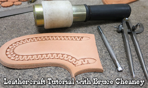 How-to-Stamp Leather Patterns