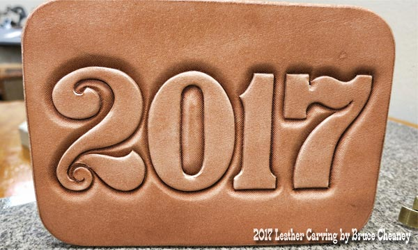 2017 Leather Carving